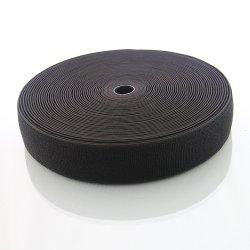높은 신축성의 고리가 있는 나일론 블랙 탄성 루프 패스너 테이프 루프