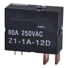 60A 80A Relais de verrouillage magnétique seule phase de l'utilisation dans le compteur d'énergie de relais