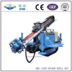 MDL-135D Full Hydraulic Power Head Crawler установлен анкер сверлильный буровой станок/машина