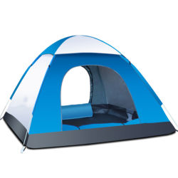 Família instantâneas tenda 2 Pessoa Automatic Janela Pop-up tendas impermeáveis para desportos ao ar livre Camping Caminhadas Travel Beach