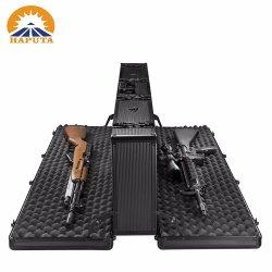 長いアルミニウムデザイン黒防水マルチ銃ボックス銃箱の美のケースはのための運ぶ(HG-2511)