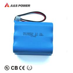 18650 3s2p 4000mAh Batterie Lithium-ion pour les équipements médicaux, de la beauté de l'équipement