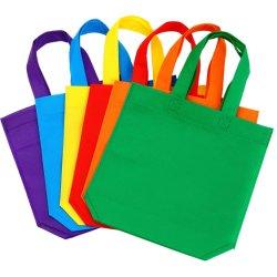 Sacchetto di acquisto non tessuto riutilizzabile promozionale ambientale su ordinazione