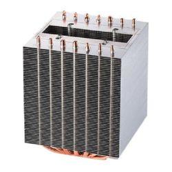 O dissipador de calor de cobre as aletas de alumínio com tubo de calor, Radiador, dissipador de calor