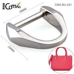 China-Fertigung Soem-Beutel-Befestigungsteil-Metald-clip, konzipieren umweltfreundlichen 38mm silbernen Farben-Metalclip-Riemen für Beutel