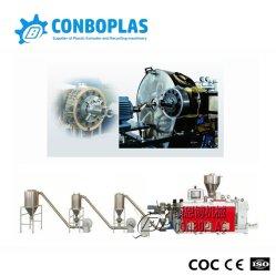 Пластмассовую накладку экструдера машина Hot-Cutting герметик ПВХ Гранулирующий линия по производству окатышей линии