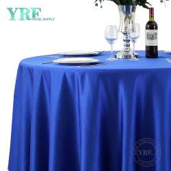 로얄 블루 테이블 직물 네이비 블루 125cm 원형 세쿼인 테이블 의류