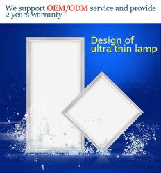 Il distributore 3W della Cina a 18W scalda il comitato quadrato di alluminio del tondo 60X60 LED dell'indicatore luminoso bianco