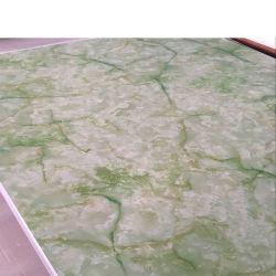 China Venda Quente Economize espaço em mármore UV de plástico cor de folha de PVC