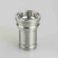 Tubo idraulico a tre fascette in acciaio inox adattatore/riduttore/raccordo a T/gomito sanitario 3A Raccordi