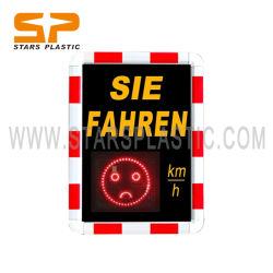 Segno di velocità del radar di traffico della visualizzazione della cifra del fronte LED di Germanysmile