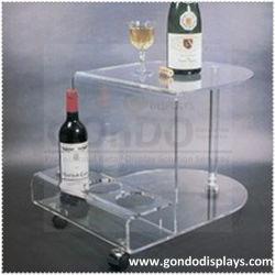 와인, 주류 및 담배, 플라스틱 Plexi Acrylic 와인 홀더 디스플레이