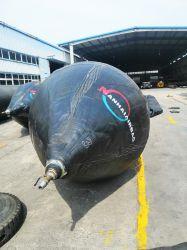 Marine Airbags en caoutchouc ballon pour expédier le lancement de navire de la marine de l'airbag Lancement de sacs gonflables de levage