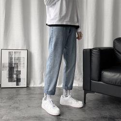 Hombre de Jeans nueve ciento Slim carece de pierna recta