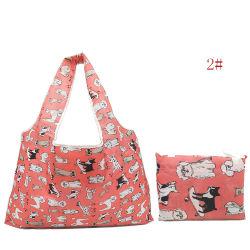 Einfach kleine faltbare mehrfachverwendbare faltbare Einkaufstasche der Taschen-RPET/Polyester tragen