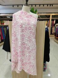 Imprime la microfibra poliéster textil Spandex Lycra estirar el tejido de prendas de vestir prendas de vestir