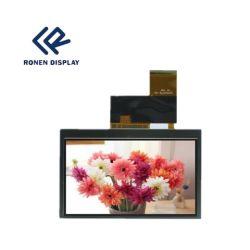 40pino 4.3Inch 480*272 Ecrã LCD com 450 Brilho
