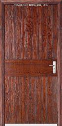 Prueba de fuego no la puerta interior Puerta alto nivel de seguridad de disco duro sólido hoja única puerta de madera