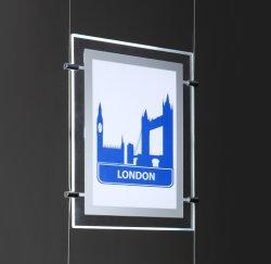 Bekanntmachen des LED-Zeichens/der heller Kasten-an der Wand befestigten Bildschirmanzeige für Innen