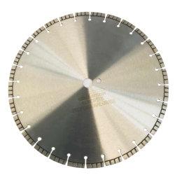 보강된 400mm 콘크리트 절단 디스크 터보 다이아몬드 톱 블레이드 콘크리트