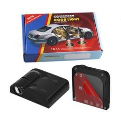 自動投射ランプレーザーライト無線ウェルカムランプ車のドア ロゴライト