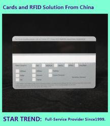 CMYK 색상 플라스틱 Hico PVC 카드를 인쇄합니다