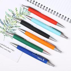 مع أقلام ملونة بلاستيكية للهدايا الملونة ومجموعة رائعة من الهدايا باللون الأبيض لوح لوح لوح لوح أبيض سوق سكويت جامبو مسطحة كرة نقطة مخصصة هدايا القلم