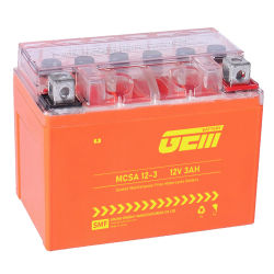 Barato Alta Qualidade de Vida Longa 12V3ah Mcsa 12-3BATERIA PARA UPS/ Solar Power Bank /inversor/Power-Tool/Electric-Scooter/aluguer/Motociclo/Sistema de Alarme/Segurança