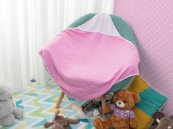 Bestsub Sublimation-Baby-mit Kapuze Tuch (80*80, Rosen-Rot)