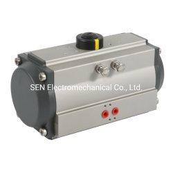 Actuador neumático con interruptor de límite de cuadro, válvula de solenoide, la anulación manual, el aire Fliter