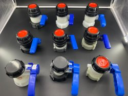 Новые IBC двухстворчатый клапан на IBC топливного бака