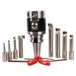 Outils de la machine CNC de haute précision réglable Outil de perçage nt30 BT40 Nbh2084 Tête de perçage Micro Jeu de barre d'alésage