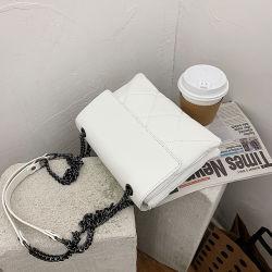 Pruebas de productos de la bolsa de la mujer 2021 Venta caliente de la moda de alta calidad PU Carta Borla arco