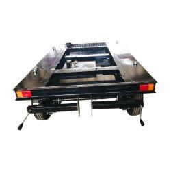 Semirimorchio dell'unità del generatore con il serbatoio di combustibile diesel