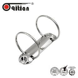 Clip del raccoglitore del giunto circolare dei 2 fori per il meccanismo di raccoglitore di anello del dispositivo di piegatura di archivio del raccoglitore di anello