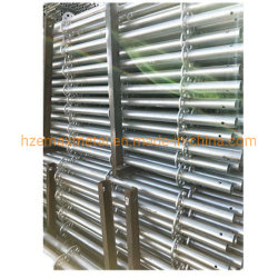 Tubo de acero galvanizado en caliente para la construcción de la Utilidad de montaje