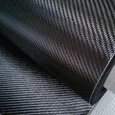 Hohe Zugfestigkeit 120gsm 1K Twill Carbon Fiber Fabric für Kamera