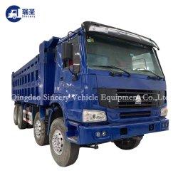중국, 아프리카 시노트루크 HOWO에 트럭 가격 책정 6 * 4 및 8 * 4 371HP - 375HP 트랙터 트럭 10휠 12휠 사용 덤프 트럭