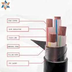 Кв XLPE Yjv220.6/1Insuated электрический провод питания с бронированных стальных
