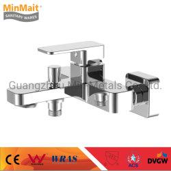 Nuevo diseño de la fábrica China Mezclador baño Cuarto de baño de latón (grifo) Spiffy
