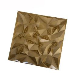 Art 3D decor Pannelli da parete PVC Wainscot Baseboard Diamond Design
