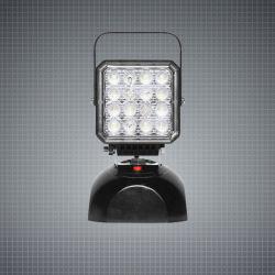 24W remorque de camion tracteur lumière LED rechargeable portable voiture Feux de travail de travail