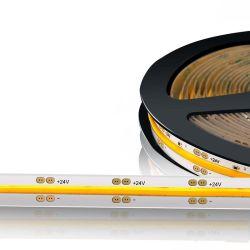 Wasserdichter flexibler COB/Fob LED Streifen des High-density504leds/m des Silikon-IP67 des Gefäß-