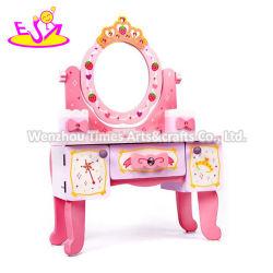 La meilleure conception prétendre jouer jouet en bois Jeu de maquillage pour les filles W08H120