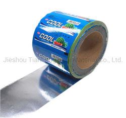 Papel de embalagem de chocolate de casamento de Cera de alumínio branco para Candy/Gomas de mascar