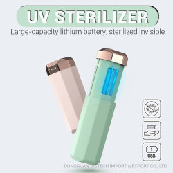 Usb-Energien-Ozon-beweglicher LED beweglicher UVsterilisator des keimtötenden MiniHandy-UVlicht-Sterilisation-UVsterilisator-Kasten-