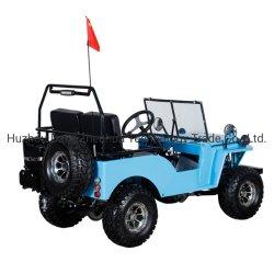 110cc nova gasolina tipo Mini em azul