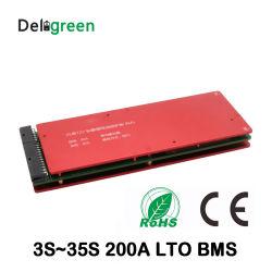 بطارية LTO BMS B5s/10s/15s/20s/30s/35s 150A دائرة بطارية ليثيوم تيتانيت بقدرة 200 أمبير لوحة الحماية BMS PCM لحزمة بطارية LTO