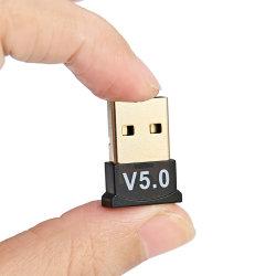 [أوسب] [بلوتووث] 5.0 مهايئة جهاز إرسال [بلوتووث] جهاز استقبال وسائل سمعيّة [بلوتووث] [دونغل] لاسلكيّة
