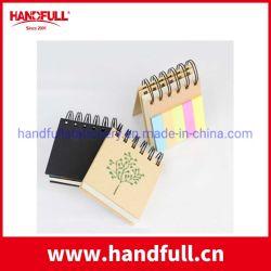 Rilievo di appunto ecologico superiore, note appiccicose con il supporto della penna